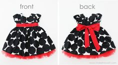 what a good way to make it your own without having to sew the whole dress! from www.makeit-loveit.com