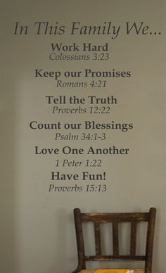 For the Home Inspirational Christian In This Family Vinyl Wall Decal Home Decor. This item is such a great way to keep your family close to the