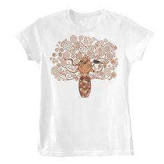 Camiseta Mujer Kokeshi El árbol de la vida
