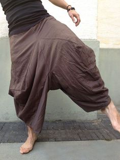 Brown Stretch #Samurai Pants Check out the full range of our new category; #samuraipants For more information about #bindidesigns products, please visit: BindiDesigns.eu