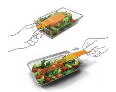 叉子一拉!盒子一搖!輕鬆方便享用沙拉~ | 大人物