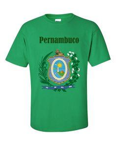 BRA-PRN1 Pernambuco Brasil 2000 Playera Adulto