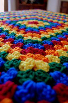 crayola rainbow granny