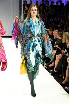 #silk #scarves #trends #falltrends by Marja Kurki at Gloria Fashion Show 2014 in Helsinki. Photo: Liisa Aro.