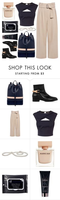 """""""Sacrifice for You & Me"""" by sweet-jolly-looks ❤ liked on Polyvore featuring Mother of Pearl, Eugenia Kim, A.L.C., Coast, Narciso Rodriguez, e.l.f., Yves Saint Laurent, casual, simple and party"""