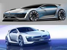 Volkswagen Golf GTE Sport Concept | Repinned by @keilonegordon