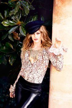 Vanessa Paradis Poses for Ellen von Unwerth in Chanel for Madame Figaro