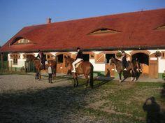 Club Dobogomajor riding stables.