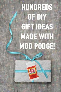 Are you looking for some unique DIY gift ideas made with Mod Podge? Browse our collection of over 400 projects - there's something for everyone!