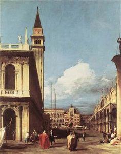 De Piazzetta, op zoek naar de Clock Tower - Canaletto