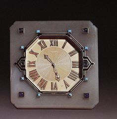 Cartier Art Deco Clock by Clive Kandel, via Flickr