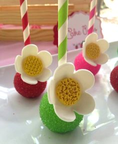 Strawberry Shortcake themed birthday party via Kara's Party Ideas   KarasPartyIdeas.com (5)