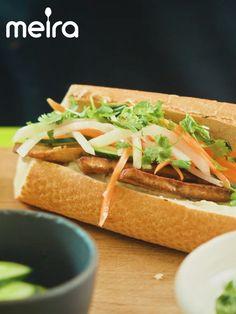 Tofu Bánh mì 2-3:lle Vaikeusaste: keskitaso Valmistusaika: 35 min + 60 min marinointi (vegaaninen, ei sisällä kalaa/äyriäisiä, ei sisällä sitrushedelmiä, ei sisällä...