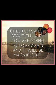 Believe it girl!