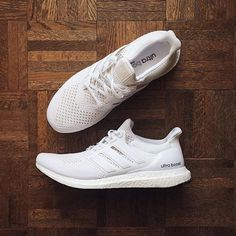 Adidas Boosts give your workout the little extra boost you need. #truth // Follow @ShopStyle on Instagram to shop these sneakers