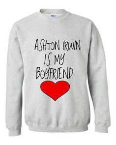 Ashton Irwin is my Boyfriend Crewneck Sweatshirt