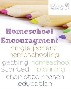 Are you a new homeschooling mom? Are you looking for homeschool encouragement and ideas? Here is a great collection of posts about getting started, single parent homeschooling, charlotte mason and more!