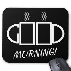 Good Morning! Puzzle Mousepad - good gifts special unique customize style