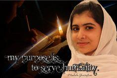 Malala Yousafzai by killashandra-falta.deviantart.com on @deviantART