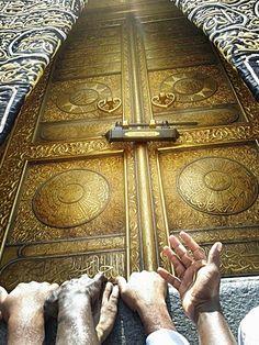 Kaaba Door - Mecca.