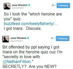 Oh, Joss. have got to join Twitter so I can follow Joss