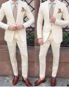 Looking at our website is time well spent. Go to the webpage to read more on custom tuxedo. Click the link to read more. Rustic Wedding Suit, White Wedding Suit, Wedding Men, Wedding Suits, Wedding Attire, Groom Tuxedo Wedding, Blazer Outfits Men, Stylish Mens Outfits, Blazer Suit