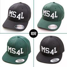 Die MS4l Snapbacks...