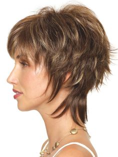Insane Pretty shag hairstyle to impress everybody The post Pretty shag hairstyle to impress everybody appeared first on Cool Hairstyles . Short Shaggy Haircuts, Short Shag Hairstyles, Haircuts For Fine Hair, Layered Hairstyles, Pixie Haircuts, Short Hair With Layers, Short Hair Cuts For Women, Medium Hair Styles, Curly Hair Styles