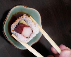 ¿no te apeteceria un roll como este? Delicioso Wasabi roll