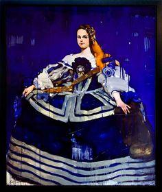 'Blue Dress' by Costa Dvorezky