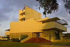 """I am thankful for the Annie Pfeiffer Chapel at Florida Southern College in Lakeland Florida. This building, as well as much of the campus, was designed by Frank Loyd Wright. I was 12 when I visited this with my parents and my sister who was considering going to school here. It was the first place I remember where, even as a young kid, I felt the power of architecture to lift your spirit and to inspire you with grace and beauty."" #PreserveCO"