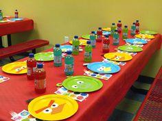 Decoración de fiesta de Angry Birds. Indicaciones.