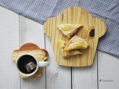 Untersetzer - Muffiny - komplet desek - ein Designerstück von fandoo bei DaWanda