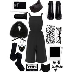 Untitled #93 by elliegeen on Polyvore featuring polyvore, fashion, style, Topshop, J.Crew, Alexander Wang, Forever 21, Yves Salomon, Yves Saint Laurent, Accessorize, H&M, Obsessive Compulsive Cosmetics and Butter London
