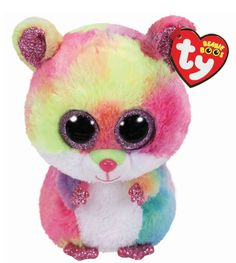 Beanie Boos Rodney the Hamster Beanie Boo Plush Toy Beanie Babies, Ty Babies, Ty Beanie Boos Collection, Ty Peluche, Boo And Buddy, Ty Toys, Stuffed Animal Cat, Ty Stuffed Animals, Unicorn Cat