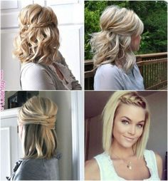 Hairstyles with Long Bob! Beauty Hairstyles with Long Bob! Be Long Bob Hairstyles Beauty Bob bobupdohairstyles Hairstyles long Medium Length Hairstyles, Long Bob Hairstyles, Diy Hairstyles, Long Bob Updo, Bob Hair Updo, Wedding Hairstyles For Short Hair, Side Braid Hairstyles, Easy Hairstyles For Medium Hair, Hairstyles Videos