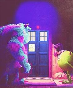 Doctor who, monsters Inc.