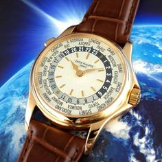 Around The World  Patek Philippe 18k Rose Gold World Time 5110R. Sometimes (in case of Patek Philippe, ALL the time) a watch speaks for itself!  Follow the link in the bio!  #patek #patekphilippe #world #5110 #patekcollector #patekgallery #instawatch #horology #watchesofinstagram #watchcollector #instagramwatches  #watchoftheday #rolexero #rolexwrist  #gentswatches #wristgame #potd #picoftheday #photooftheday #bestoftheday