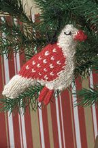 Knitted Bird a Pois, from Interweave Knits Gifts 2011 special issue magazine