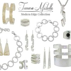 Spring is less than two weeks away!  Add a fun and cool edge to your outfits with jewelry from the Modern Edge Collection.  Shop the Modern Edge Collection at https://tamaramichellejewelry.com/product-category/modern-edge-art-jewelry/