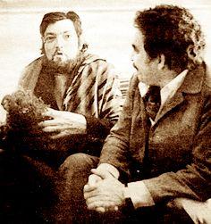 #Gabo y Cortázar. Dos gigantes de la literatura latinoamericana. La mitad del Big Bang latino en una foto.