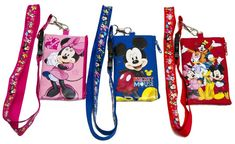 Love this lanyard with detachable coin purse idea for kids to store pins for trading, keep fast passes, tickets, Disney Bucks, and souvenir pennies safe in the coin purse.