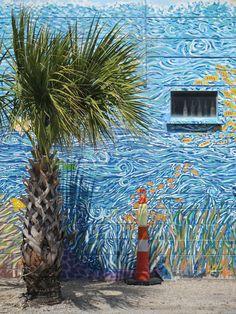 Folly Beach Mural, Charleston, SC