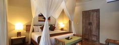 The rooms are available with king-size or twin bed options, and also feature a spacious private balcony overlooking the most beautiful rice terrace view. Ubud Hotels, Rice Terraces, King Size, Bed, Room, Furniture, Home Decor, Bedroom, Decoration Home