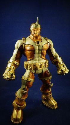 Marvel Legends infinite dc universe custom Steampunk Sinister Six Rhino #DCComics