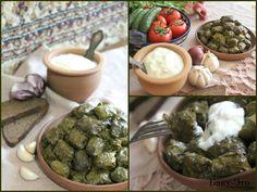 Yarpaq Dolması (Долма из виноградных листьев)