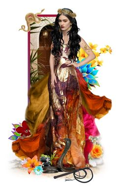 """""""Nymeria Sand"""" by girlinthebigbox ❤ liked on Polyvore featuring art, got and Nymeria"""