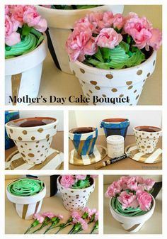 BD Design: Mother's Day Cake in a Terra Cotta Pot
