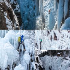Want to go for Ice Climbing in America? Well, Ouray Ice Park in Colorado is the best destination for you. It is also known as the Switzerland of America. Its stunning frozen waterfalls stretch up the walls of this natural gorge in every direction. Also, The Ouray Ice Festival has taken place each year in January. So what are you waiting for ? Go and explore this incredible place. Ice Climbing, Amazing Destinations, Waterfalls, Switzerland, Colorado, Waiting, January, To Go, Frozen