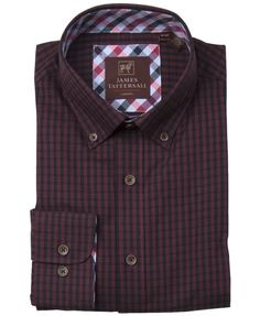 JTW6619-Red from James Tattersall Clothing